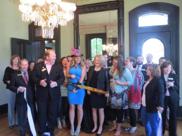 ALS In Wonderland Foundation's Little Rock Chamber's Ribbon-Cutting event. ALS In Wonderland non- profit Federal Tax ID - 501C3 46-1826315.