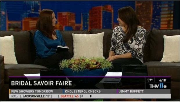 Bridal Savoir Faire Event Planner, Meredith Corning, sits down with THV 11's Alyse Eady. Click video to watch.